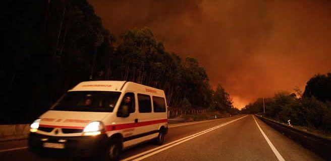 62 muertos por incendios en Portugal