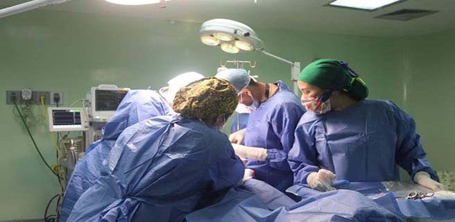 Más de 100 pacientes fueron intervenidos por el Plan Quirúrgico Nacional en Linares Alcántara
