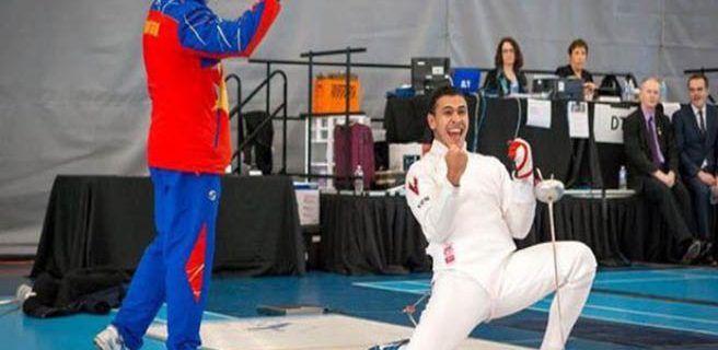 Rubén Limardo se titula campeón panamericano
