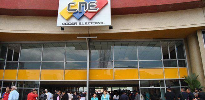 CNE aprueba informe de renovación de organizaciones políticas