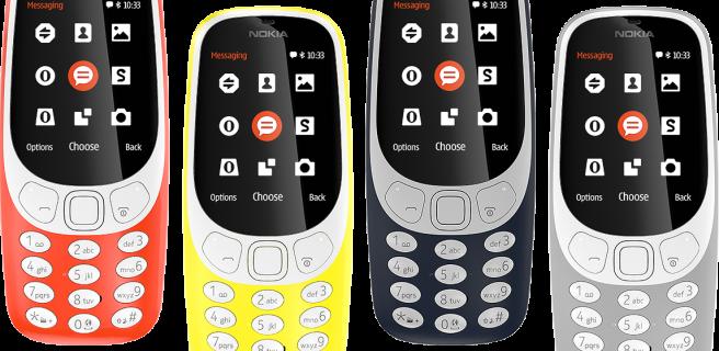 Nokia 3310: más nuevo