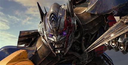 Transformers, en primer lugar de taquilla norteamericana