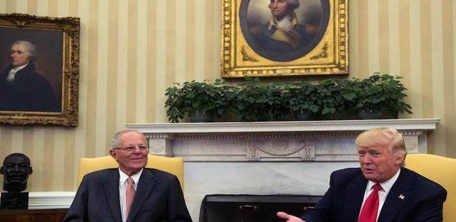 Trump y Kuczynski hablan de Venezuela