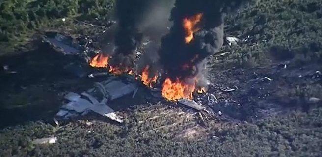 16 muertos tras accidente aéreo en EEUU