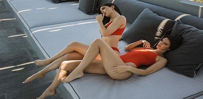 Kendall y Kylie Jenner lanzan línea de trajes de baño
