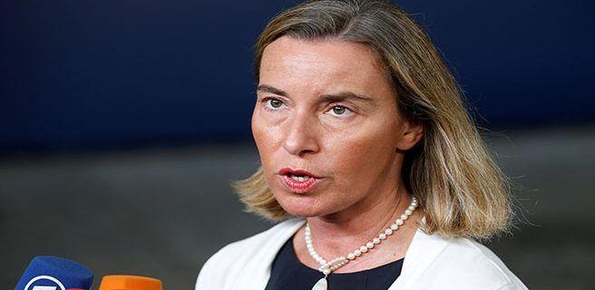 Mogherini pide suspender proceso de ANC