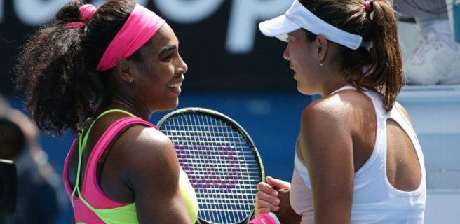 Muguruza y Venus Williams en semifinales de Wimbledon