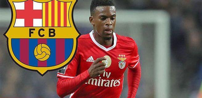 Barcelona anuncia el fichaje del defensa del Benfica Nelson Semedo