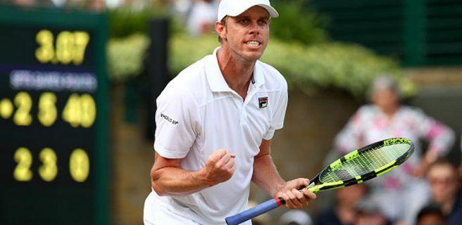 Sam Querrey sorprendió a Murray y lo dejó fuera de Wimbledon