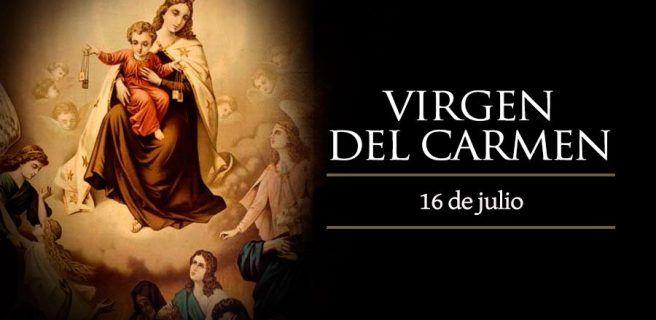 Hoy es día de Nuestra Señora del Carmen
