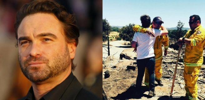 "Actor de ""The Big Bang Theory"" perdió su casa tras incendio"