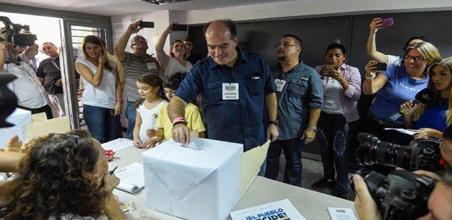 Julio Borges: Venezuela se expresó en jornada convocada por la MUD