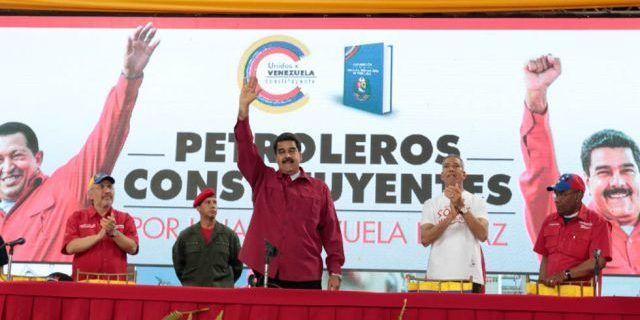Oficialistas comienzan campaña para la Asamblea Nacional Constituyente