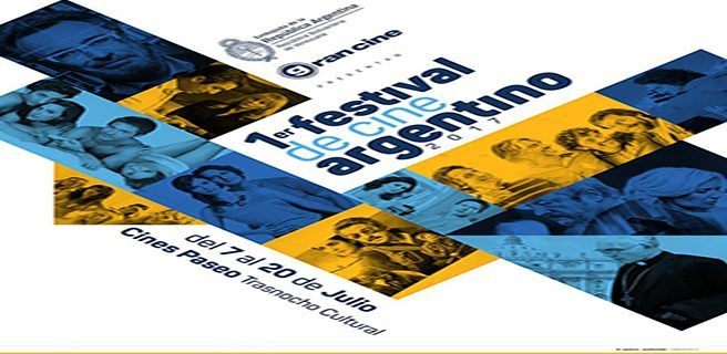 A partir de este viernes 7 de julio se realiza el 1er. Festival de Cine Argentino 2017