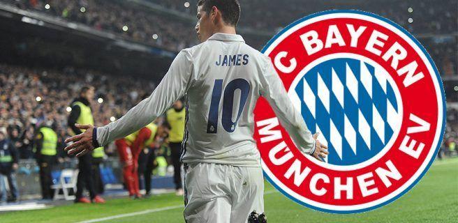 James Rodríguez al Bayern de Múnich