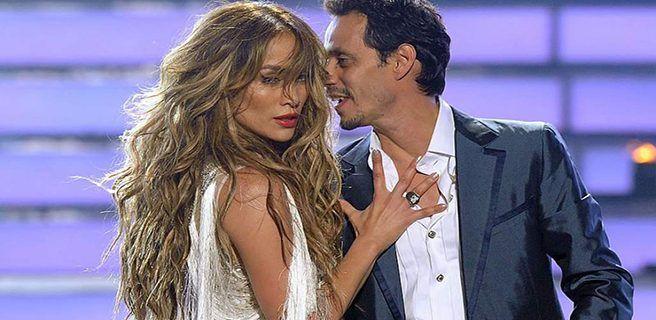 Palabras de Jennifer Lopez a Marc Anthony ante la muerte de su madre