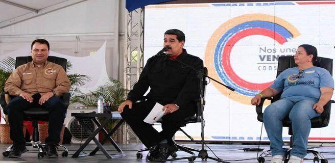"""Maduro rechaza """"insolente"""" sanción de EEUU contra funcionarios venezolanos"""