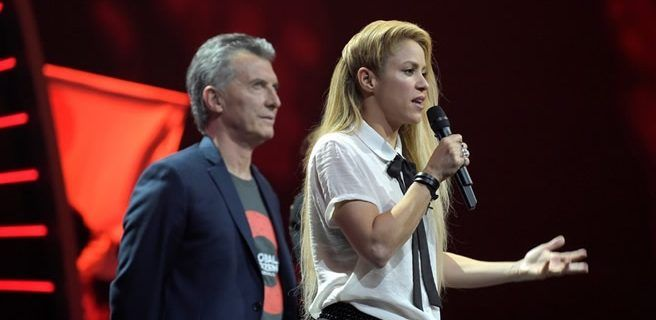 Shakira al G20: Trabajen por el futuro de los niños