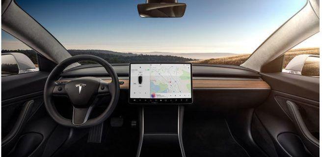 Así es por dentro el futuro coche eléctrico Tesla Model 3