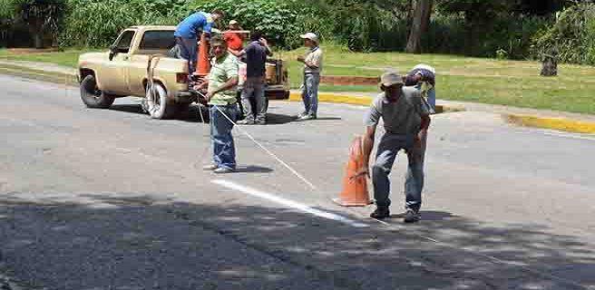 Continúa plan de embellecimiento del municipio Ribas