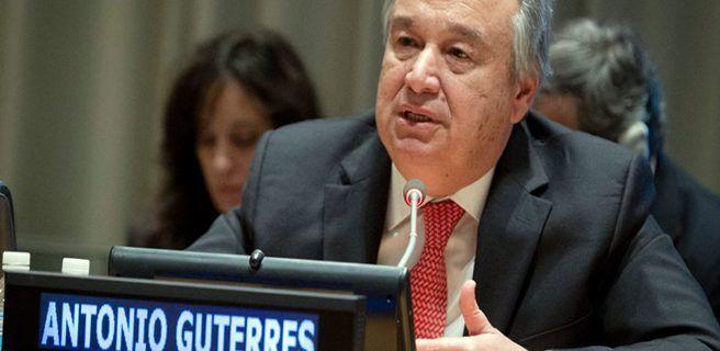 Guterres nuevamente llama al diálogo