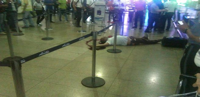 Asesinan a dominicano dentro del aeropuerto de Maiquetía