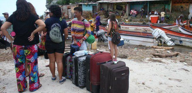 Población de Choroní retoma cotidianidad luego de afectación por las lluvias