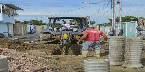 Detectan 14 casos de emergencia en red de aguas servidas en Linares Alcántara