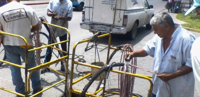 Cantv realiza mantenimiento de redes en Maracay