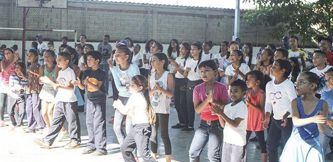 Plan de Escuelas Abiertas 2017 arrancó con éxito en Aragua