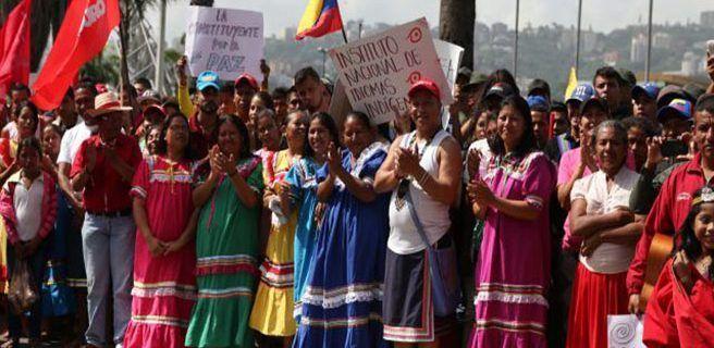 Indígenas de Occidente celebran este martes elección de sus cuatro constituyentes