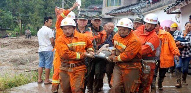 Terremoto en China dejó 175 heridos y 13 fallecidos