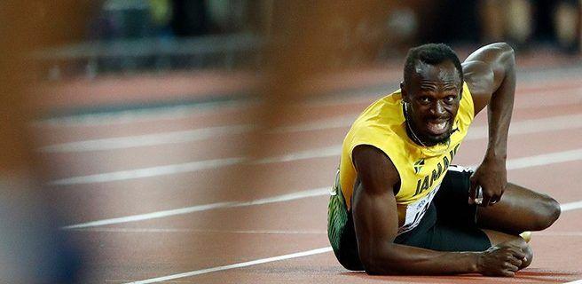 Bolt termina su carrera deportiva de la peor manera posible