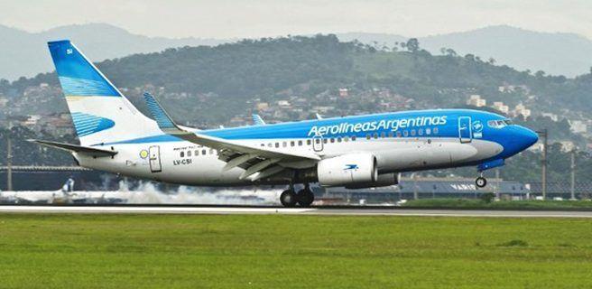 Aerolíneas Argentinas cancela vuelo a Caracas