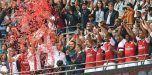 Arsenal corona mediante los penaltis