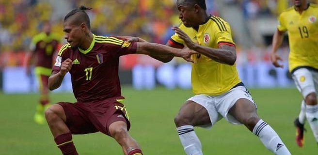 Colombia busca ante Venezuela impulso rumbo al Mundial Rusia-2018