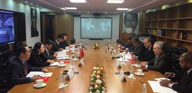 Venezuela y China fortalecen inversión y cooperación petrolera
