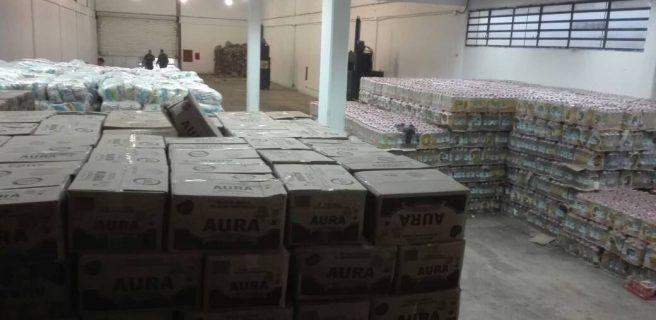 Decomisan más de 100 mil kilos de alimentos destinados al bachaqueo