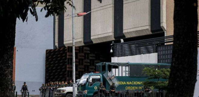 GNB bloquea accesos a Fiscalía