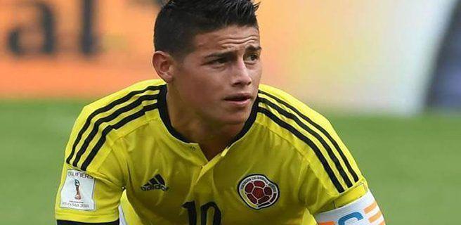 James viajará con Colombia para el juego ante Venezuela