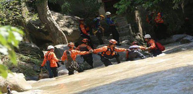 Continúan operativo de rescate de personas desaparecidas en Aragua