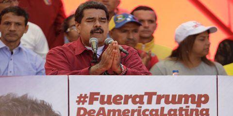 Maduro pide apoyo ante amenaza de Trump