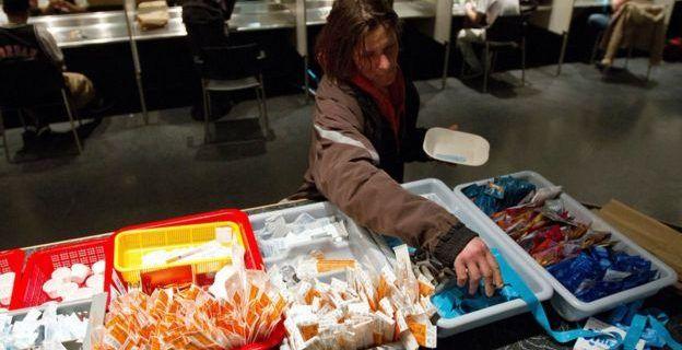 La ciudad de Canadá que permite que los adictos se inyecten heroína