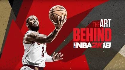 En la portada del nuevo juego NBA esta Kyrie Irving alero de los Cavaliers de Cleveland