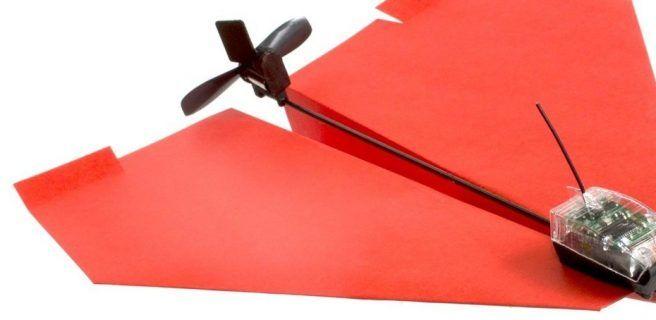 Powerup 2.0: Al avioncito de papel ahora le puedes poner motor (+video)