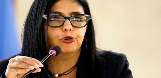 Delcy Rodríguez se solidariza con Cuba tras huracán Irma