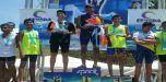 Aragüeños se lucieron en Campeonato Nacional de Aguas Abiertas