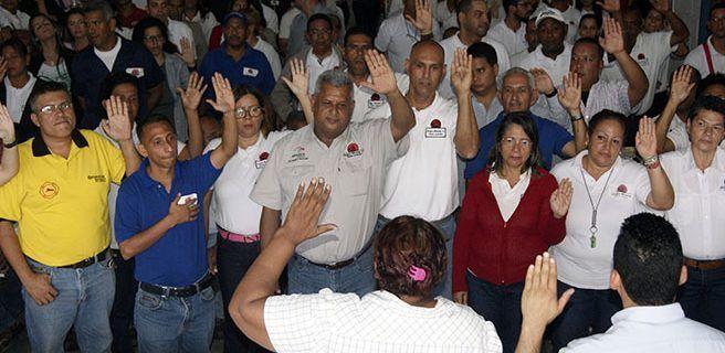 Juramentaron Comando de Campaña Cacique Maracay