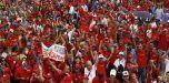 Con marcha cierran jornada de solidaridad con Venezuela
