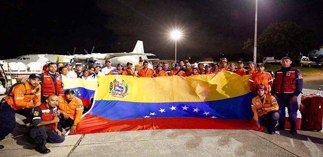 Rescatistas venezolanos participan en evacuación de 1.800 personas en Antigua y Barbuda
